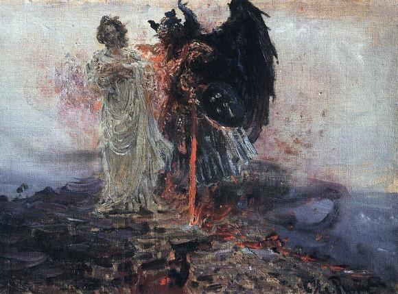 Иди за мною, Cатано. 1895