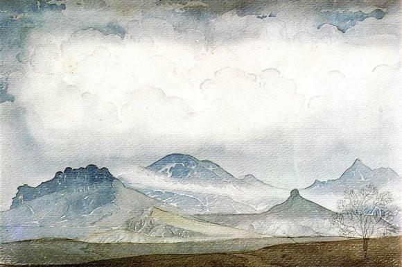 Кара-Даг в облаках