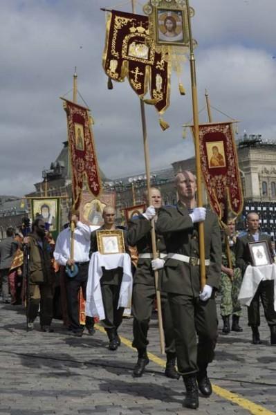 Крестный ход на Красной площади