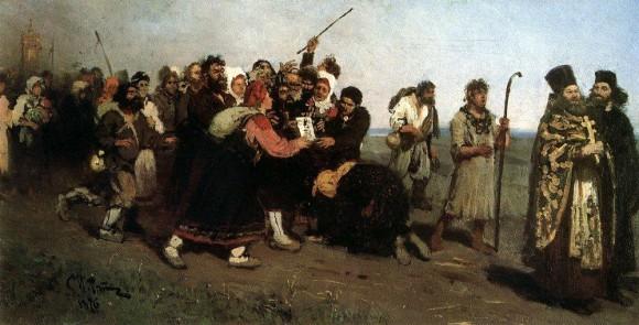 Крестный ход. 1877