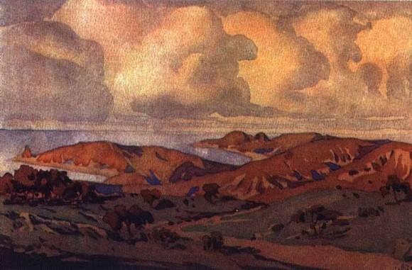 Крым. В окрестностях Коктебеля. 1910-е