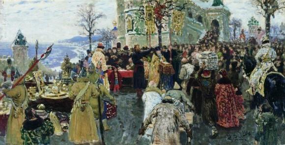 Кузьма Минин. 1894