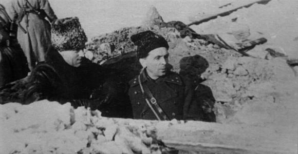 К.К. Рокоссовский и П.И. Батов