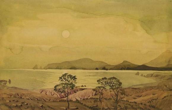 Лунное безмолвие. 1930