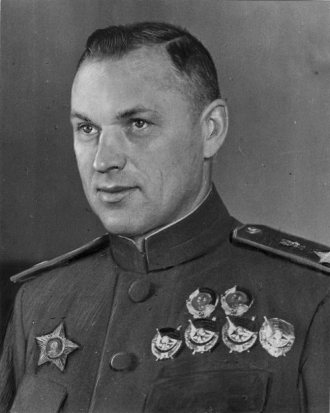Маршал Советского Союза К.К. Рокоссовский, 1944 год