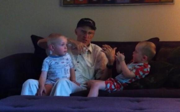 Перед тем, как он умер от лейкемии, мой отец рассказывал моим мальчикам те же истории, что и мне, когда я был ребёнком.