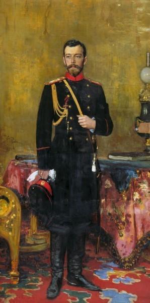 Портрет императора Николая II. 1895.
