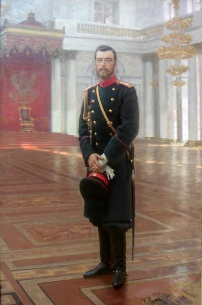 Портрет императора Николая II. 1896