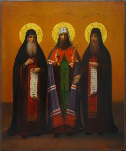 Преподобные Антоний, Макарий и Феодосий