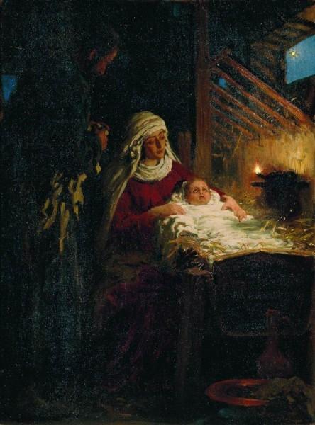 Рождество Христово. 1890