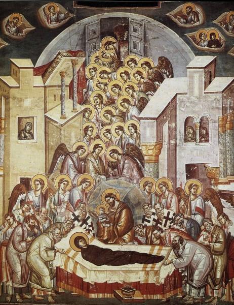 Успение Пресвятой Богородицы. Икона 3