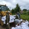 Мобильная группа имени Александра Невского: борьба с наводнением (+Фото)