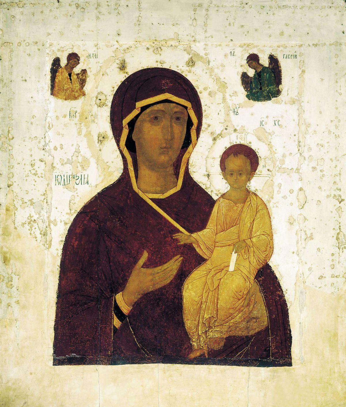 Смоленская икона Божией Матери ...: www.pravmir.ru/ikonografiya-smolenskoj-ikony-bogomateri-odigitrii