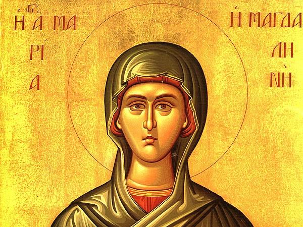Церковь чтит память святой равноапостольной Марии Магдалины