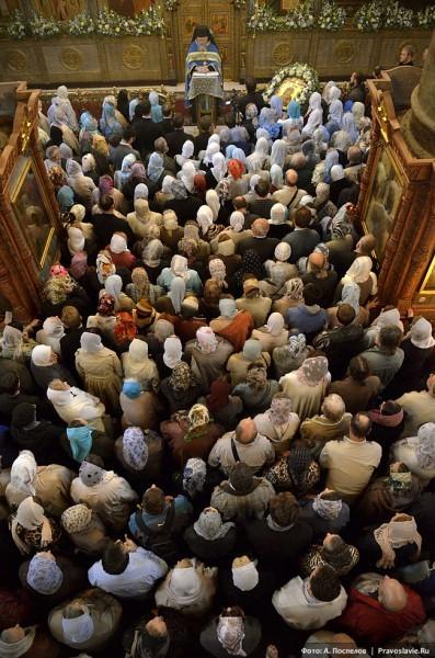 Проповедь в храме. Фото: А. Поспелов / Православие.Ru
