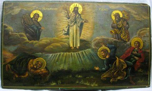 Преображение Господне - картины, иконы и фрески