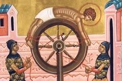 Житие великомученика Пантелеимона в клеймах иконы