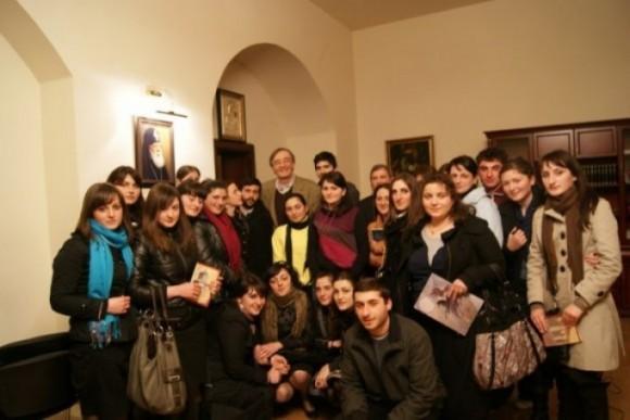 Встреча с маэстро Вахтангом Мачавариани