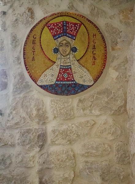 Мозаичная икона св. Недели