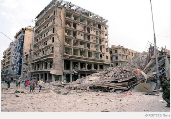 Ситуация в Алеппо на 3 октября 2012 года