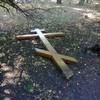 Полиция установила личность подозреваемого в сломе поклонного креста в Ульяновске