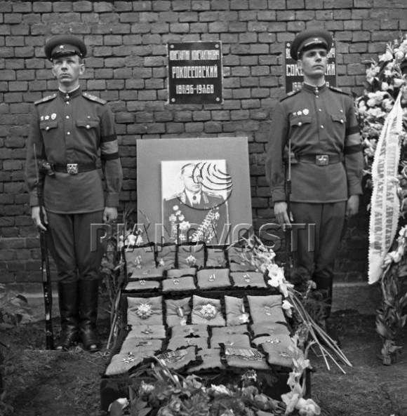 Похороны маршала Рокоссовского