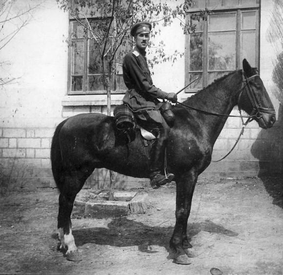 Генерал Врангель - командир 1-й бригады Уссурийской конной дивизии