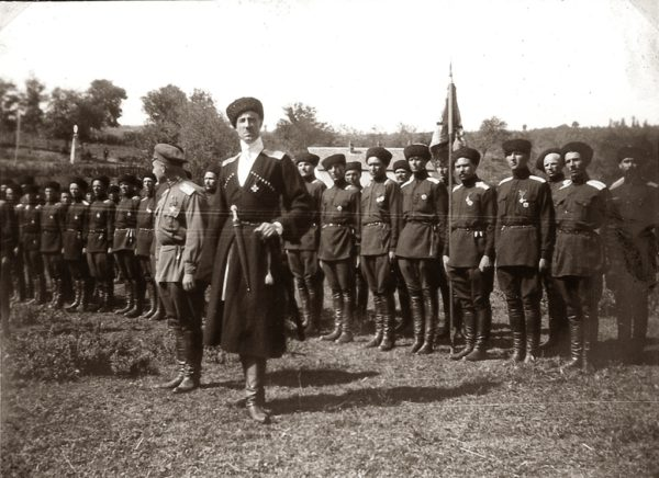 Генерал Врангель. Портрет