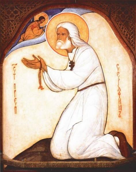 Прп. Серафим Саровский. Икона инока Григория (Круга)