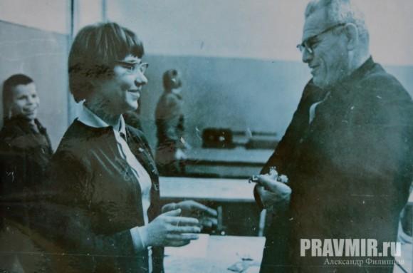 Семен Афансеьевич Калабалин и Лидия Егорикова, 1967 г.