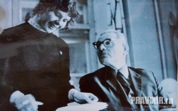 Калабалин и Вера Волкова, 1969 г.