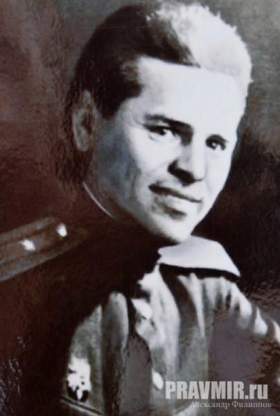 Калабалин после выполнения задания на фронте, декабрь 1943 г.