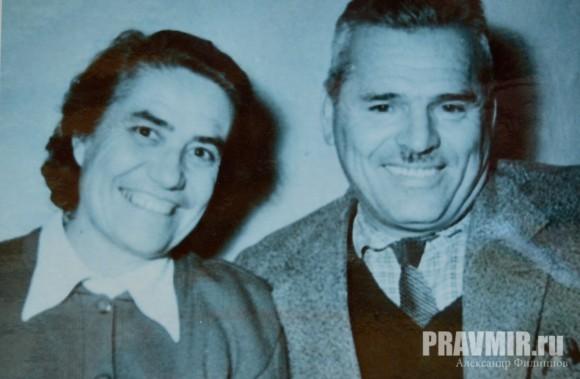 Калабалин с супругой