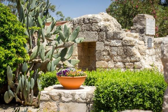 Цветочки, кактусы и развалины византийских построек