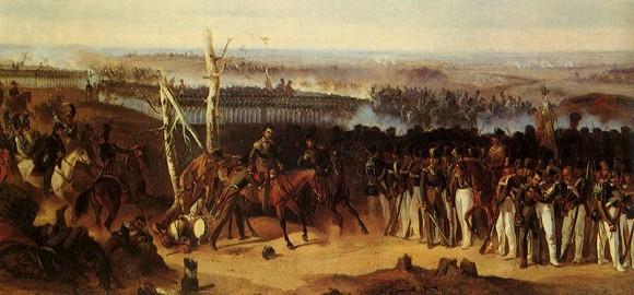 А. Коцебу. Лейб-гвардии Измайловский полк в Бородинском сражении