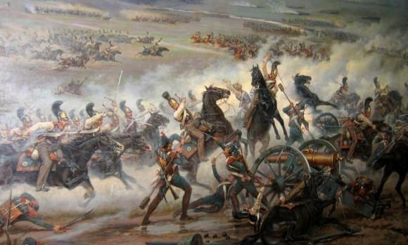 В. Мазуровский. Атака Лейб-гвардии конного полка.