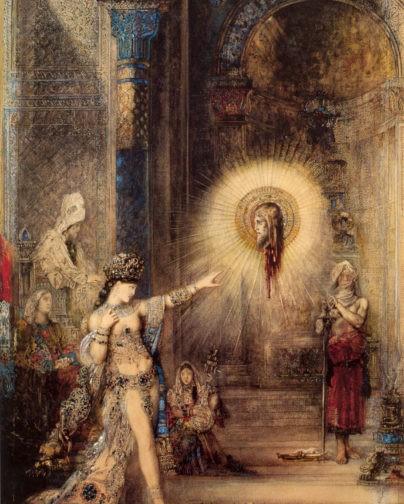 Усекновение головы Иоанна Предтечи. Густав Моро. Саломея