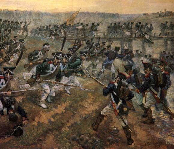 Келлерман В. Атака гвардейских егерей и матросов