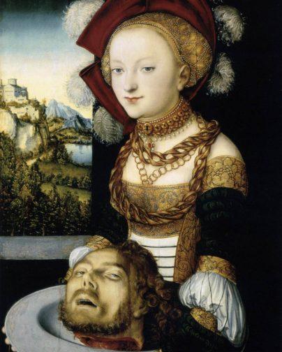 Усекновение главы Иоанна Предтечи. Саломея. Лукас Кранах Старший. Ок. 1530