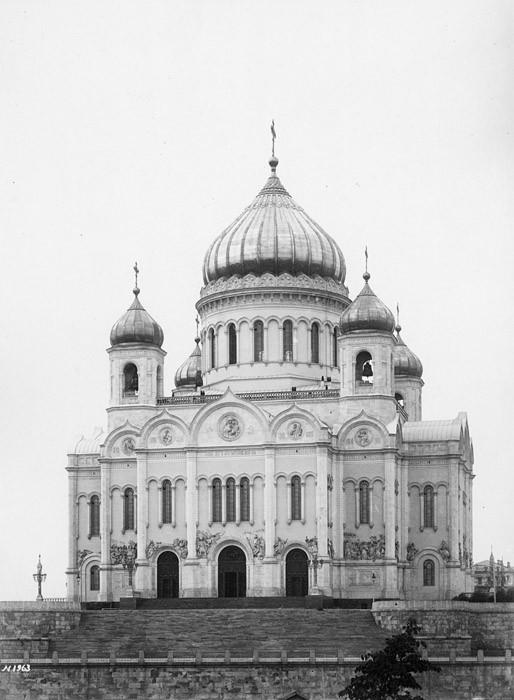 Храм в 1881 г.