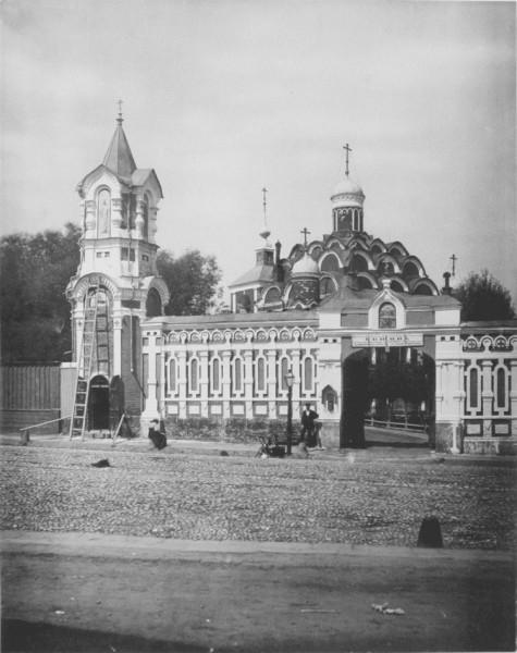 Храм Покрова в Рубцово до революции. Фото 1882 г.