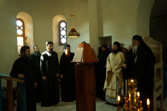 Братия Свято-Троицкого Ахтырского монастыря