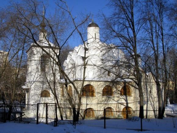 Храм Покрова Божией Матери в Рубцово