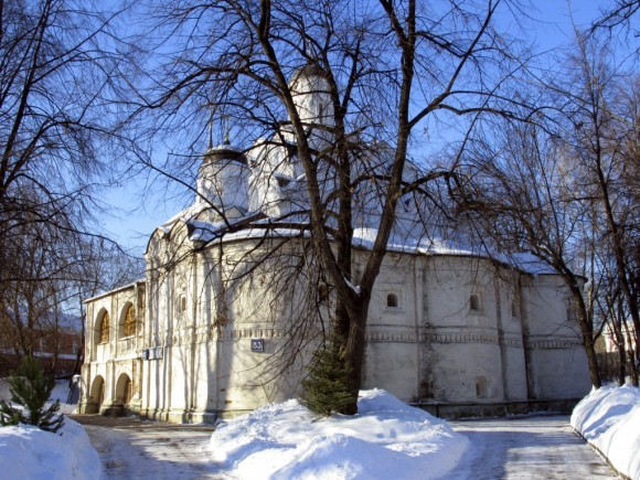 Храм Покрова Божией Матери в Рубцово, 2010 г.