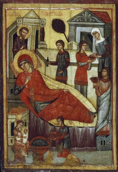 Новгородская икона. Середина XIV в. ГТГ, Москва