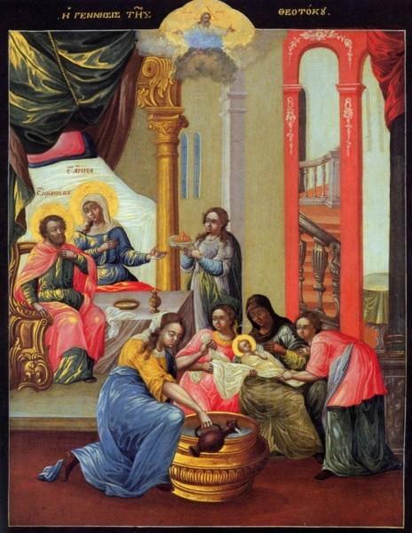 Икона из иконостаса, подаренного Екатериной II греческой колонии в Ливорно. 2-ая половина XVIII в. Музей Ливорно