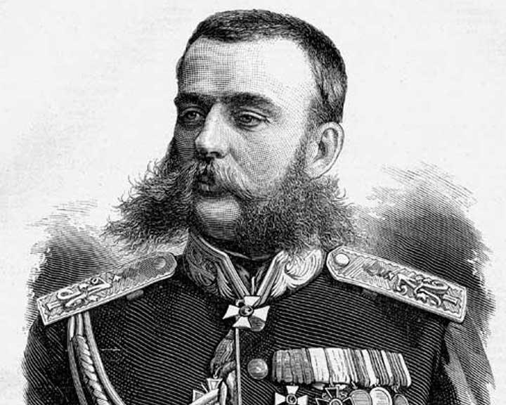 Генерал Скобелев Михаил Дмитриевич.