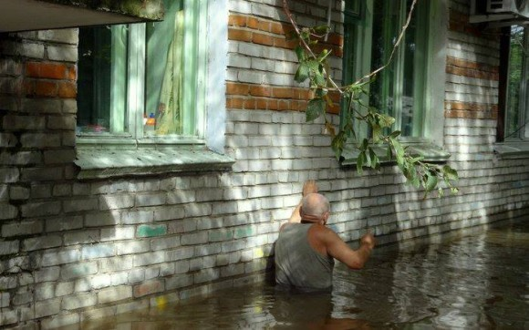 Наводнение в Хабаровске