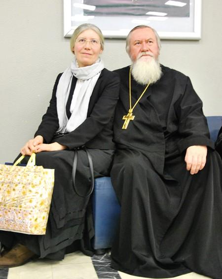 Отец Иоанн и матушка Елена