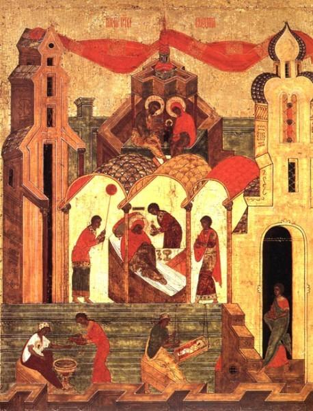 Икона. Середина XV в. Новгород (?)